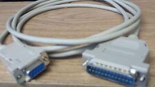 Serielles Modemkabel 9 pol. Buchse an 25 pol. Stecker 1,8 m