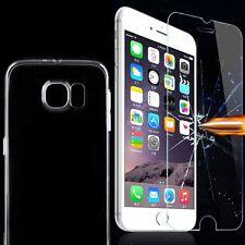 Handy Schutz Hülle Cover Ultra dünn Case Silikon mit oder ohne Panzer Glas Folie