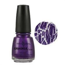 "China Glaze Crackle Glaze Nail Polish ""Fault Line"" .5 ounce"
