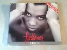 HADDAWAY - I MISS YOU - 4 TRACK UK CD SINGLE - INC. MEGAMIX