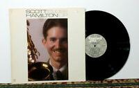 Scott Hamilton, Close Up - LP 1982, Cool Jazz / Post Bop Saxophone Legend - NM