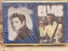 Elvis Presley Playing Cards In Velour Set Of 2 Decks 2000 New