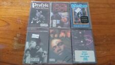 Old school Hip Hop Rap cassette tape lot of 6 new old stock sealed