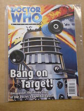 DOCTOR WHO #291 2000 MAY 31 BRITISH WEEKLY MONTHLY MAGAZINE DR WHO DALEK