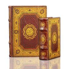 Marquis Antique Design Decorative Nesting Book Boxes Set Handmade Wood Keepsake