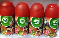 4 Air Wick Freshmatic Automatic Spray Refill Apple Harvest cedarwood cinnamon