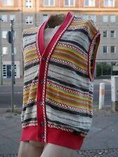 CARLO COLUCCI 90er Weste Strickweste Gr. 52 Pullover True VINTAGE sweater vest