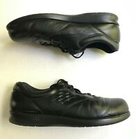 SAS Free Time Women's Size 10 S Black Leather Tripad Comfort Shoes Narrow 163