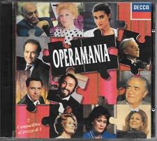 "RARO 2 CD FUORI CATALOGO 1992 "" OPERAMANIA """