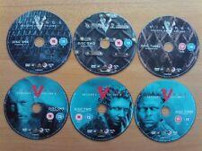 Vikings Season 4 Complete Series 4 PART 1&2 DISC ONLY [DVD] [2017]  - UK Import