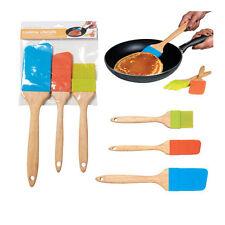 Creative Kitchen Utensils-Set of 3- 2 Spatulas-1 Basting Brush- Fun & Unique-New