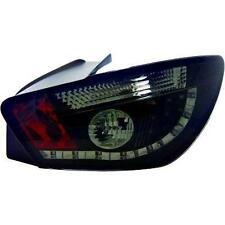 Coppia fari fanali posteriori TUNING SEAT IBIZA 08-12 3pt fume' nero con LED