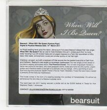 (DQ774) When Will I Be Queen?, Bearsuit - 2011 DJ CD