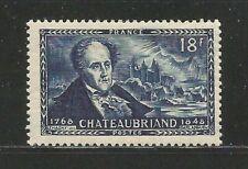 68X) FRANCE 1948** ANIV. MORT FRANCOIS-RENÉ - Yv. 816 (MNH)