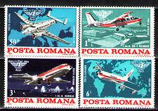 Romania 1984 ScC265-8  Mi4072-5 4v mnh 40th Anniv.,Intl. Civil Aviation Organiz.