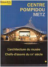 BEAUX ARTS CENTRE POMPIDOU METZ + PARIS POSTER GUIDE