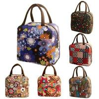 Thermal Insulated Tote Picnic Lunch Cool Bag Cooler Box Handbag Pouch Colorful