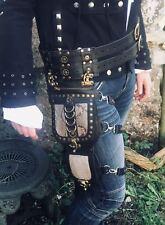 Steampunk Leg Bag Hip Utility Pouch Belt Cycling Biker Holster feeanddave