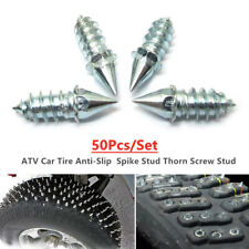 50pcs ATV Car Tire Accessories Tire Stud Thorn Screw Anti-slip Snow Ice Nail Bit