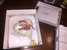 Hummel Goebel Christmas Ornament 2007 Flying Angel Heart Nib