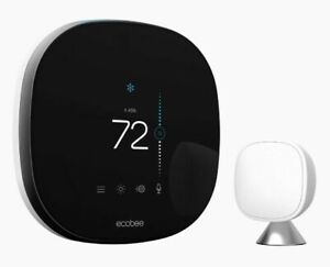 NEW sealed ecobee 4 smart thermostat with room sensor & with Alexa voice control