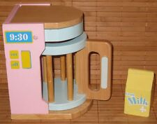 KidKraft Wooden Pastel Coffee Pot Maker & Milk Kitchen Playset Kidcraft