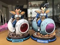 Dragon Ball Z Super Saiyan Vegeta Spaceship Model Statue Figure Comic Edition