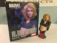 Marvel Universe BLACK WIDOW Resin Bust Limited of 4000 Diamond Select Pre-Owned