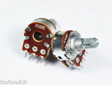 3 pcs Alpha 100KA / A100K Dual Audio Pot Potentiometer 15mm 1/4W Volume Control