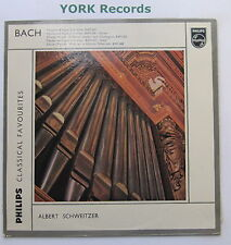 GBL 5509 - BACH - Organ Favourites ALBERT SCHWEITZER - Excellent Con LP Record