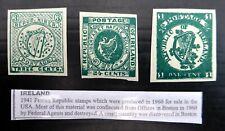 IRELAND 1941 Fenian Republic Set of 3 As Described SEE BELOW NQ782