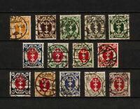 (YYAS 308) Danzig 1921 USED Mich 73 - 86 Gdansk Poland Germany