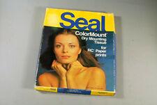 Vintage Seal 8x10 Colormount dry mount tissue
