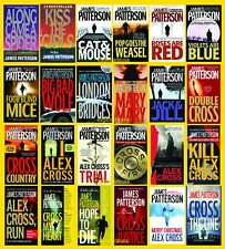 Alex Cross Collection Series Set 1-24 Books by James Patterson - BRAND NEW