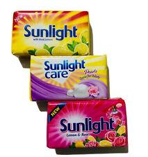Sunlight Laundry bar/soap mild smell & cares for fabric 115g-100% Ceylon product