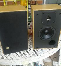 JBL J2050 Speakers, Oak Finish, Compact Bookshelf,