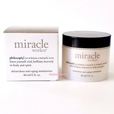 PHILOSOPHY MIRACLE WORKER Miraculous Anti-Aging Moisturizer 2 oz  AMAZING! BOX!