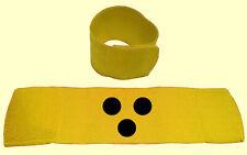 Blindenarmbinde für Sehbehinderte Klettverschluss elastisch universal 7cm breit