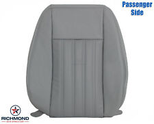 2003-2005 Lincoln Aviator-Passenger Lean Back PERFORATED Leather Seat Cover Gray
