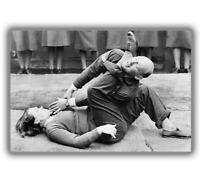 """War Keeping a man """"in his place"""" woman WW2 Photo Glossy """"4 x 6"""" inch D"""