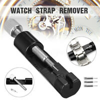 Wrist Bracelet Strap Adjuster Watch Band Link Remover Repair Tool Set 45K Steel
