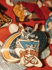 2007 WDW Attractions Stitch Space Ranger Spin Artist Proof Disney Pin #57808