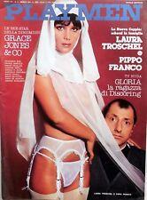 RIVISTA MAGAZINE PLAYMEN N.4 1978 GRACE JONES  LAURA TROSCHEL PIPPO FRANCO