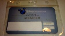 PLASTIC HOLDER ZIP Loc for DISNEY TICKET/FAST PASS & ID/BADGE/CARD for LANYARDS