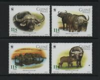 GUINEA-BISSAU 2002 WWF - AFRICAN BUFFALO *VF MNH*