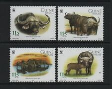 GUINEA-BISSAU 2002 WWF - AFRICAN BUFFALO *VF MNH SET*