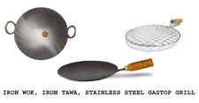 Combo|Iron Tawa|Griddle|Iron Wok|Kadai|Stainless Steel Chicken Grill|Kitchen Too