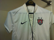 Nike<> Team Usa<>Ladies Jersey-Shirt<>Size M<>Soccer<> Authentic<> White/Dk Blue