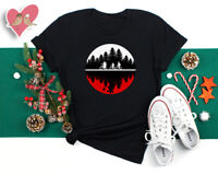 Stranger inspired cuore luci Eleven T-shirt donna Friends don/'t lie