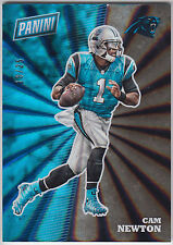 CAM NEWTON 2017 Panini National NSCC Silver Pack Thick Spokes #/25 #FB5 Panthers